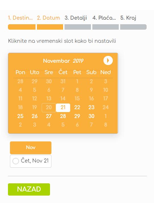 trend travel booking sistem dubrovnik