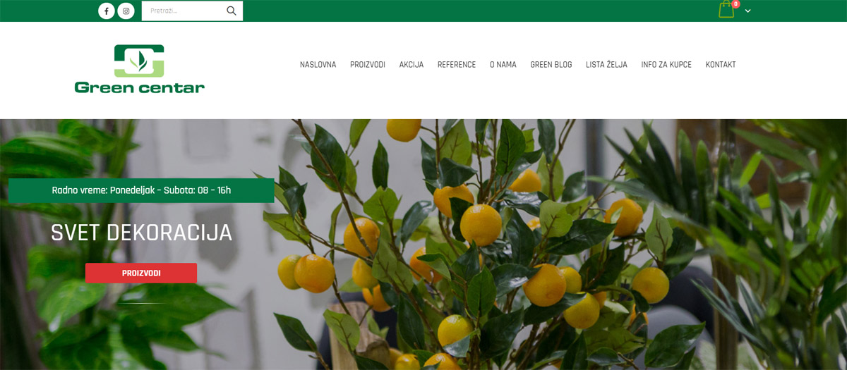 green centar online shop lobohouse