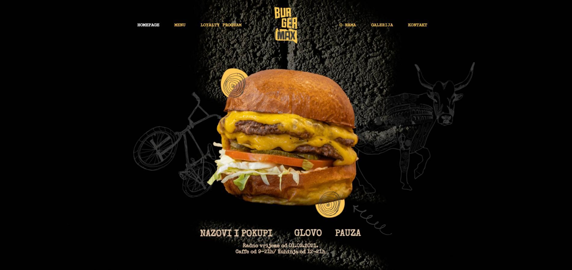 Burgermax BMX web rešenja